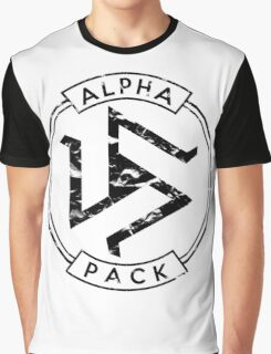Alpha Pack (Black) - Teen Wolf Graphic T-Shirt