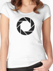 Aperture Science Women's Fitted Scoop T-Shirt