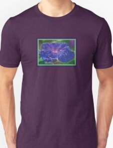 A Very Special Mother Deep Purple Morning Glory T-Shirt
