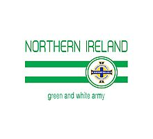 Euro 2016 Football - Northern Ireland (Away Blue) Photographic Print