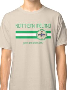 Euro 2016 Football - Northern Ireland (Away Blue) Classic T-Shirt