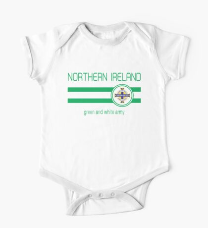 Euro 2016 Football - Northern Ireland (Away Blue) One Piece - Short Sleeve