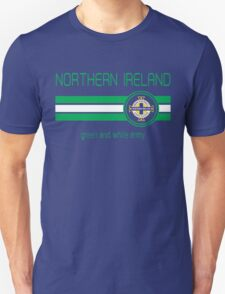 Euro 2016 Football - Northern Ireland (Away Blue) Unisex T-Shirt