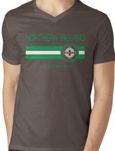 Euro 2016 Football - Northern Ireland (Away Blue) Mens V-Neck T-Shirt