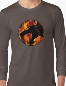 Fire cats Long Sleeve T-Shirt