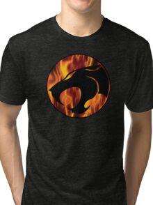 Fire cats Tri-blend T-Shirt
