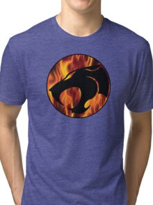 Fire cats Tri-blend T-Shirt