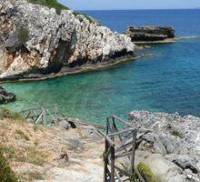 Hidden Cove, Skala, Kefalonia Sticker