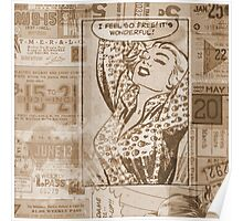 Retro Comic iPhone Cases & Skins Poster