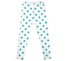 Blue Polka Dot Leggings  Leggings