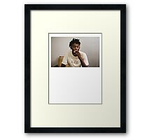 Playboi Carti Framed Print