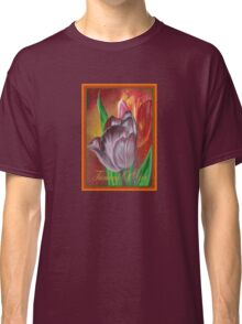 Thinking Of You - Two Tulips Classic T-Shirt