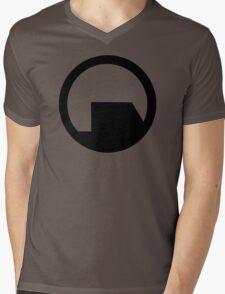 Black Mesa Mens V-Neck T-Shirt