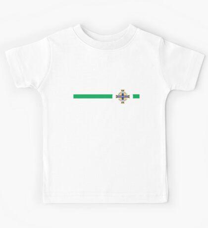 Euro 2016 Football - Northern Ireland (Home Green) Kids Tee