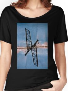 Cleveland on the double #3 Women's Relaxed Fit T-Shirt