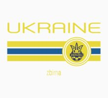 Euro 2016 Football - Ukraine (Away Blue) One Piece - Short Sleeve