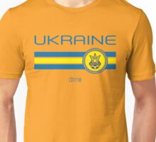 Euro 2016 Football - Ukraine (Home Yellow) Unisex T-Shirt
