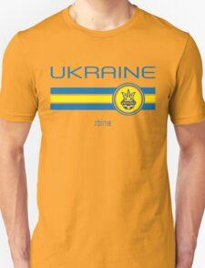 Euro 2016 Football - Ukraine (Home Yellow) T-Shirt