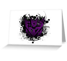 Decepticon Logo Greeting Card