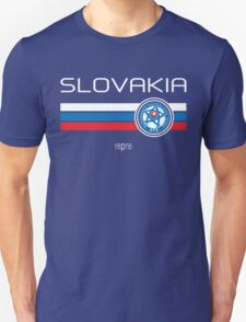 Euro 2016 Football - Slovakia (Away Blue) T-Shirt