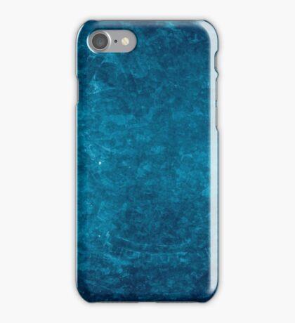 Renaissance Blue Background iPhone Case/Skin