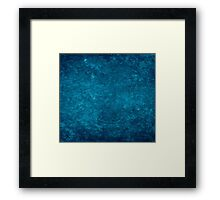 Renaissance Blue Background Framed Print