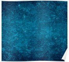Renaissance Blue Background Poster