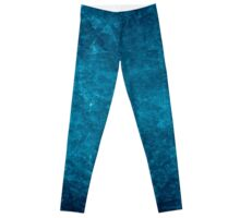 Renaissance Blue Background Leggings