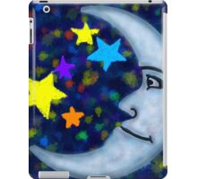Happy Moon and Stars iPad Case/Skin