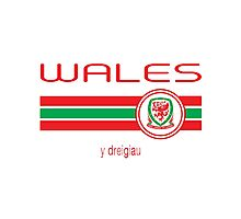 Euro 2016 Football - Wales (Away Yellow) Photographic Print