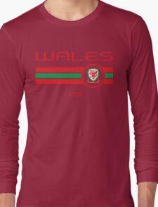 Euro 2016 Football - Wales (Away Yellow) Long Sleeve T-Shirt
