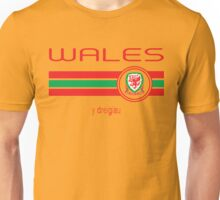 Euro 2016 Football - Wales (Away Yellow) Unisex T-Shirt