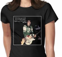 Joan Jett Quotes Womens Fitted T-Shirt