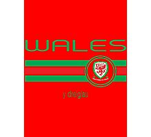 Euro 2016 Football - Wales (Home Red) Photographic Print