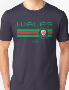 Euro 2016 Football - Wales (Home Red) T-Shirt