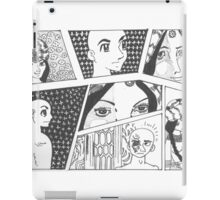 Comic Sketch. iPad Case/Skin