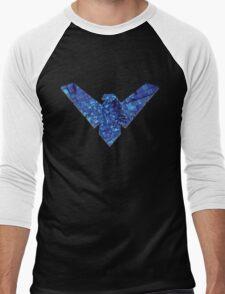 Nightwing 4 Men's Baseball ¾ T-Shirt
