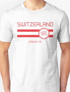 Euro 2016 Football - Switzerland (Away White) T-Shirt