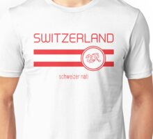 Euro 2016 Football - Switzerland (Away White) Unisex T-Shirt