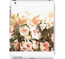 Peach peonies iPad Case/Skin