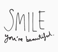 Smile, You're Beautiful Kids Tee