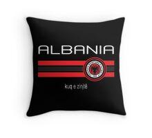 Euro 2016 Football - Albania (Away Black) Throw Pillow