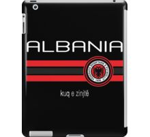 Euro 2016 Football - Albania (Away Black) iPad Case/Skin
