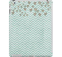 Cute Heart Wavy Background iPad Case/Skin