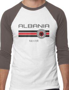 Euro 2016 Football - Albania (Home Red) Men's Baseball ¾ T-Shirt