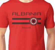 Euro 2016 Football - Albania (Home Red) Unisex T-Shirt