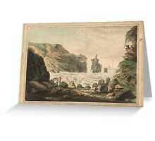 British School 18th century  Title Giants' Causeway No. 2, Greeting Card