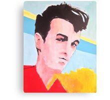 Steven Patrick Morrissey - The Smiths - Original Painting Canvas Print