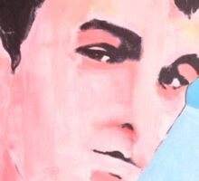 Steven Patrick Morrissey - The Smiths - Original Painting Sticker