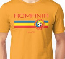 Euro 2016 Football - Romania (Home Yellow) Unisex T-Shirt